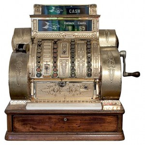 early cash register