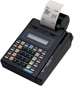 An example of a outdated and non-compliant terminal and an example of why merchants need EMV terminals